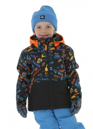 Quiksilver Toddler Little Mission Kids Jacket - WinterKids.com