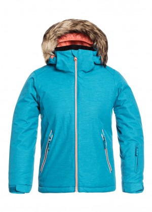 Roxy American Pie Solid Girl Jacket - WinterKids.com