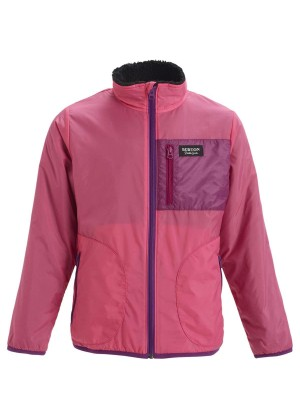 Burton Girls Snooktwo Reversible Fleece Jacket  - WinterKids.com