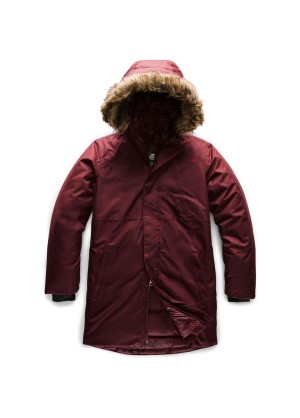 The North Face Girls Arctic Swirl Down Jacket - WinterKids.com