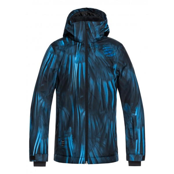 39b36f84d Quiksilver Boys Mission Printed Youth Jacket